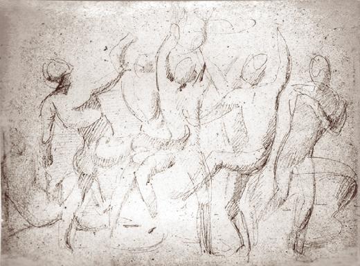 Grupa osób bawiących się piłką