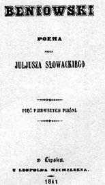 Okładka - Beniowski