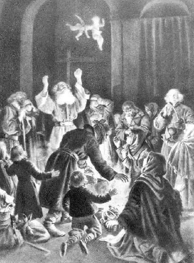 Duchy dzieci Józia i Rózi