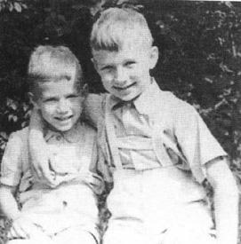 Rafał i brat Andrzej